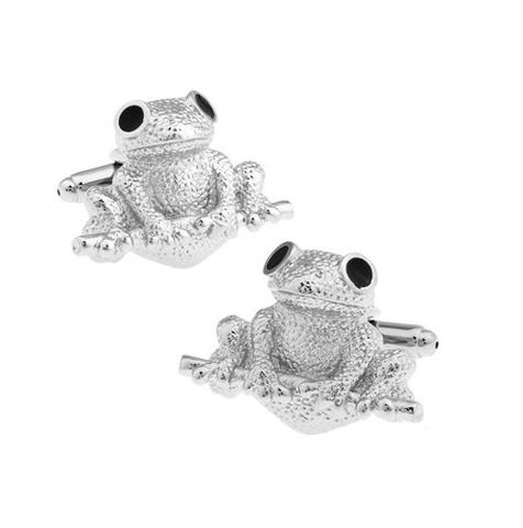 Cute Frog Cufflinks - 1