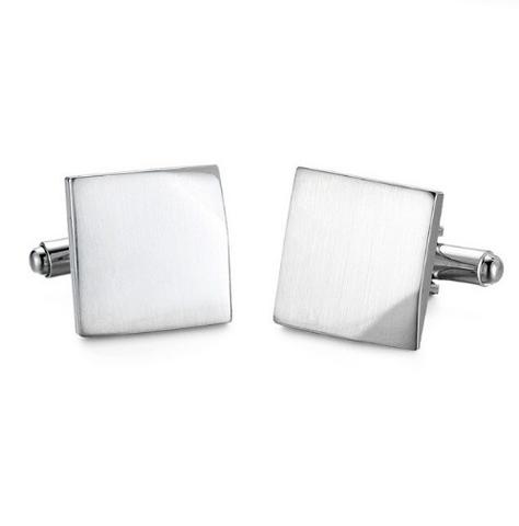 Cufflinks with craned corners - 1