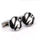 Cufflinks black abstract - 1/2