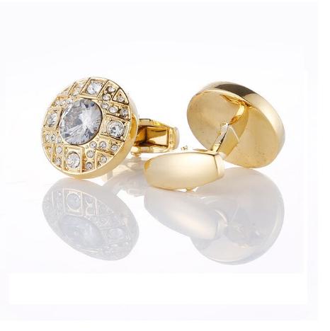Royal gold cufflinks