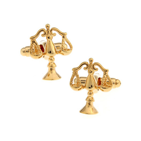 Golden weight Cufflinks