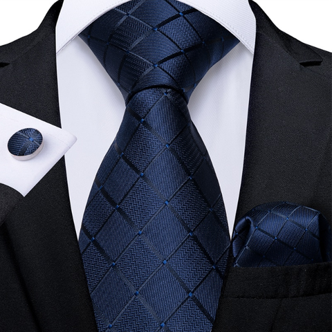 Cufflinks & Tie & Pocket Square Set - Eris - 1