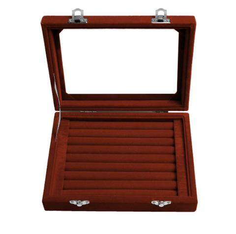Black Cufflink Box - for three pairs - 1