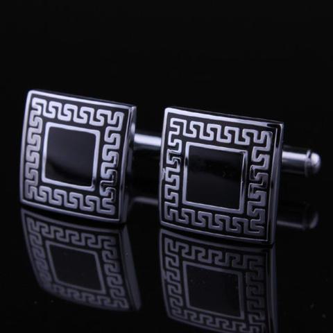 Ancient Greek Pattern Cufflinks - 1