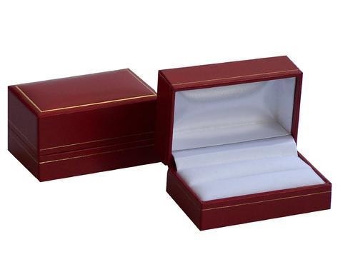Red Cufflink Box