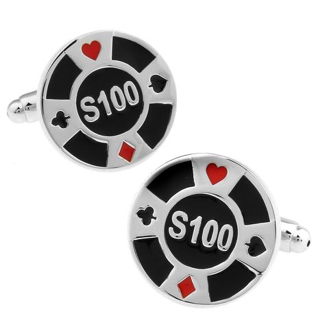 Poker Chips Cufflinks