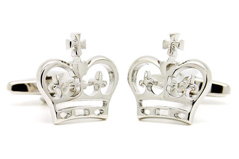 Cool Royal Crown Design Cufflinks - 2