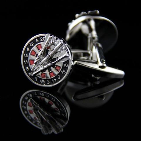 Darts and Dart Board Cufflinks - 2
