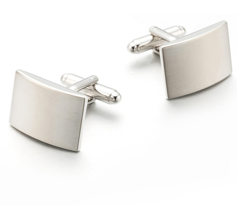 Cufflinks with buckle for engraving - 2