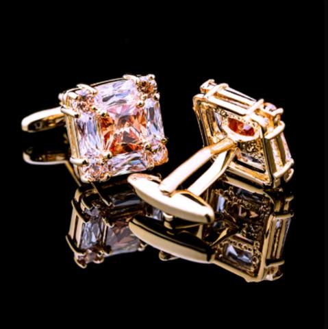 Cufflinks rosegold - 2
