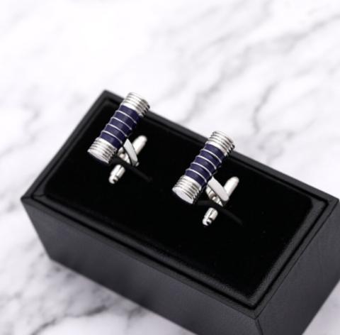 Cufflinks elegant oval - 2