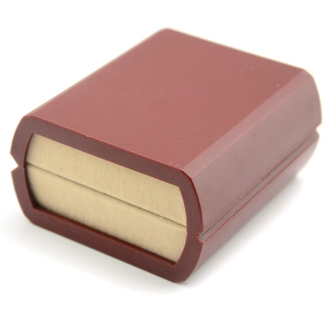Luxury Single Cufflink Box red - 2