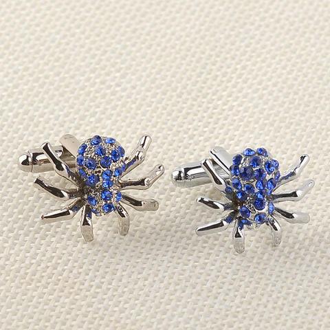 Blue Spider Cufflinks - 2