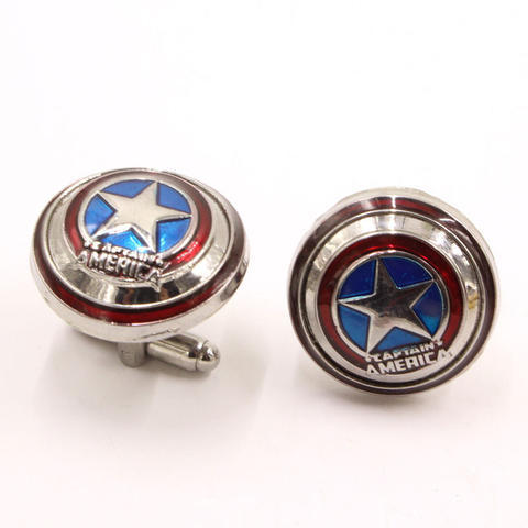Captain America Superhero Cufflinks - 2