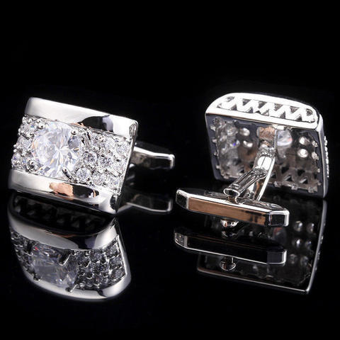 Luxury Zircon Cufflinks - 2