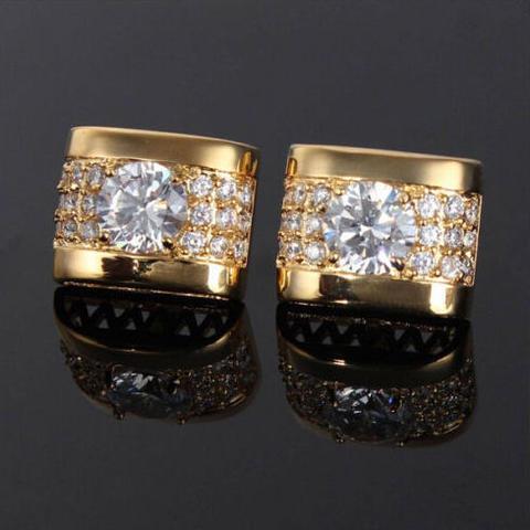 Luxury Crystal Element Cufflinks - 2