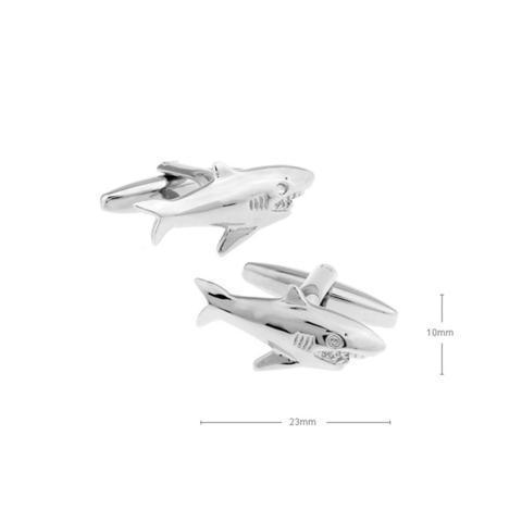 Shark Cufflinks - 2