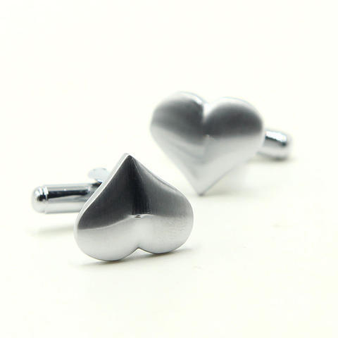 Valentine Heart Cufflinks - 2