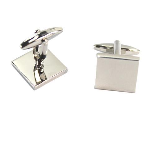 Engraved Square Cufflinks - 2