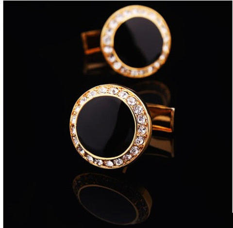 Luxury Black Eye Cufflinks - 2