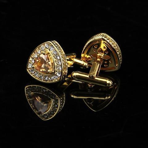 Luxury Triangle Cufflinks - 2