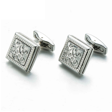 Cufflinks with Art Nouveau ornament - 2