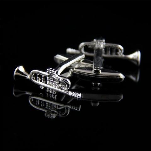 Trumpet Steel Cufflinks - 2