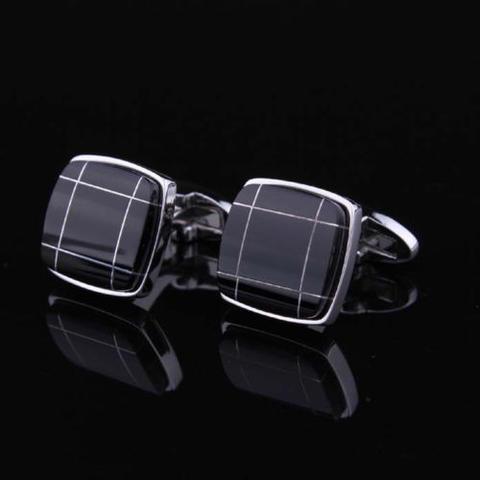 Black Crossroad Cufflinks - 2
