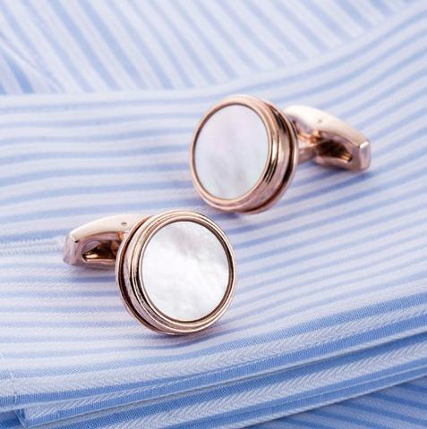 Cufflinks natural pearl - 2