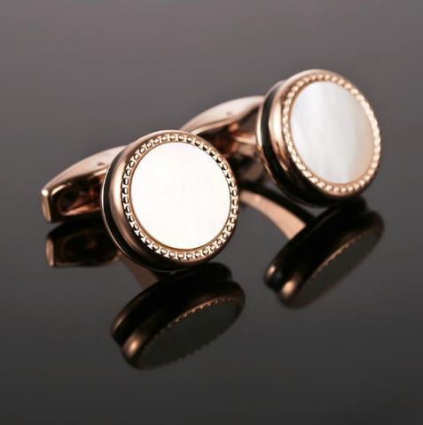 Cufflinks pearl black - 2