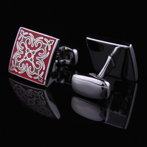 Cufflinks Wedding Red - 2