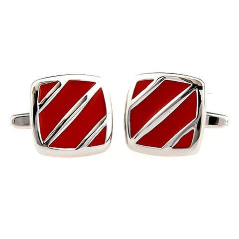 Red Flow Cufflinks - 2