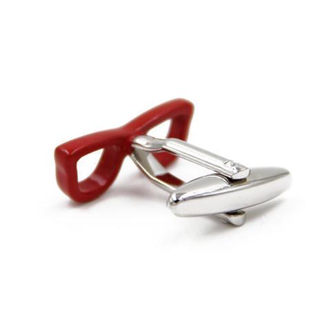 Cufflinks red glasses - 2