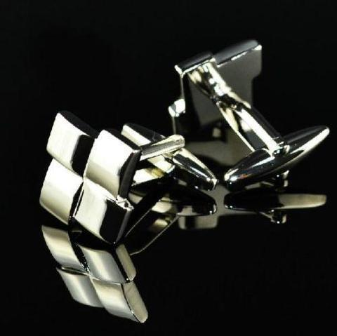 Square Mosaic Cufflinks - 2
