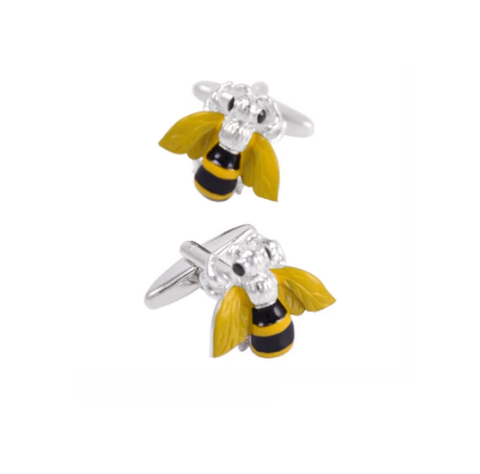 Bee cufflinks - 2