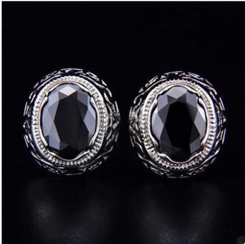 Dragon Eye Circular Ornament Cufflinks - 2