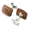 Cufflinks wood big - 2/2