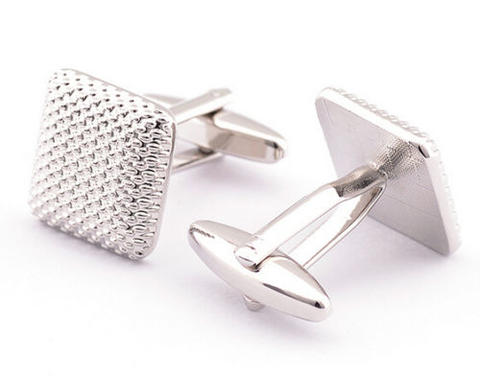 Square Stamping Cufflinks - 2