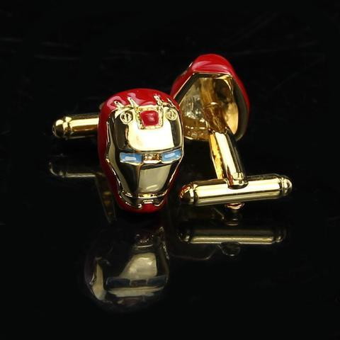 Iron Man Helmet Cufflinks - 2