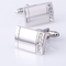 Cufflinks for engraving with stones - 2/4