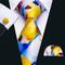Cufflinks & Tie & Pocket Square Set - Muzy - 2/2