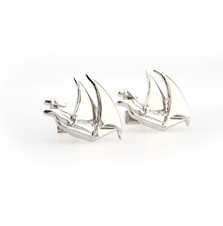 Sailing Boat Cufflinks - 2