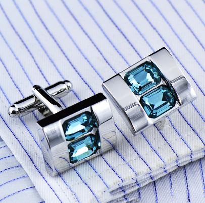 Cufflinks Blue stone - 2