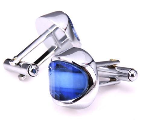 Light Blue Sun Cufflinks - 2