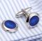 Cufflinks blue desire - 2/2