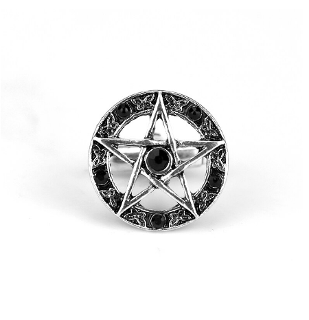 Pentagram Cufflinks black - 2