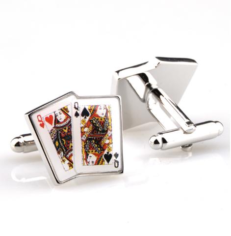 Ladies Poker Cufflinks - 2