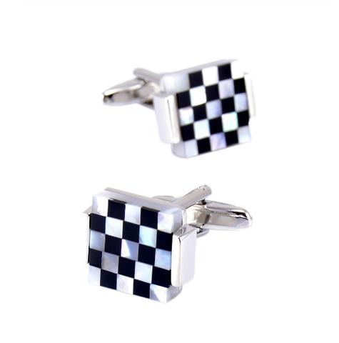 Cufflinks pearl mosaic - 2