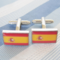 Cufflinks Spanish Flag - 2/2
