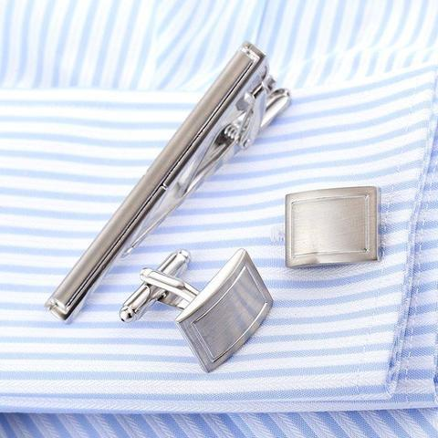 Cufflinks with tie traditional - 2